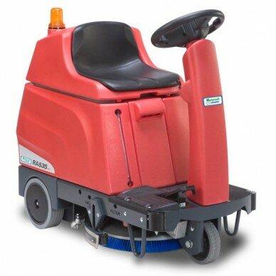 Поломоечная машина с местом для оператора Cleanfix RA 535 IBCT-1